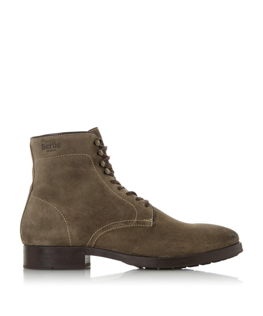 Image for Bertie Mens CONGLOMERATE Lace Up Casual Boots