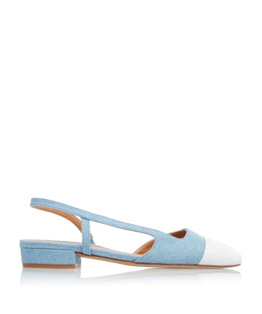 Image for Dune Ladies CORALINA Block Heel Slingback Shoes