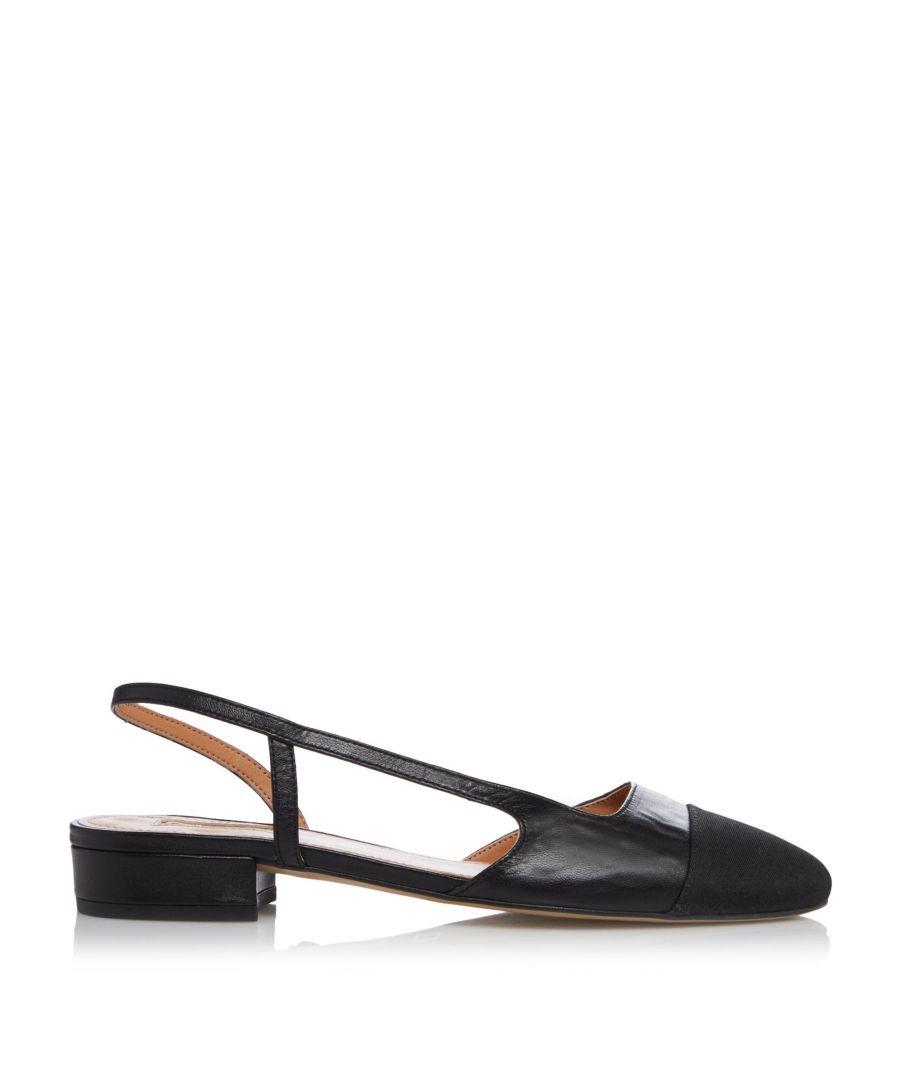 Image for Dune Ladies CORALLINA  Block Heel Slingback Shoes