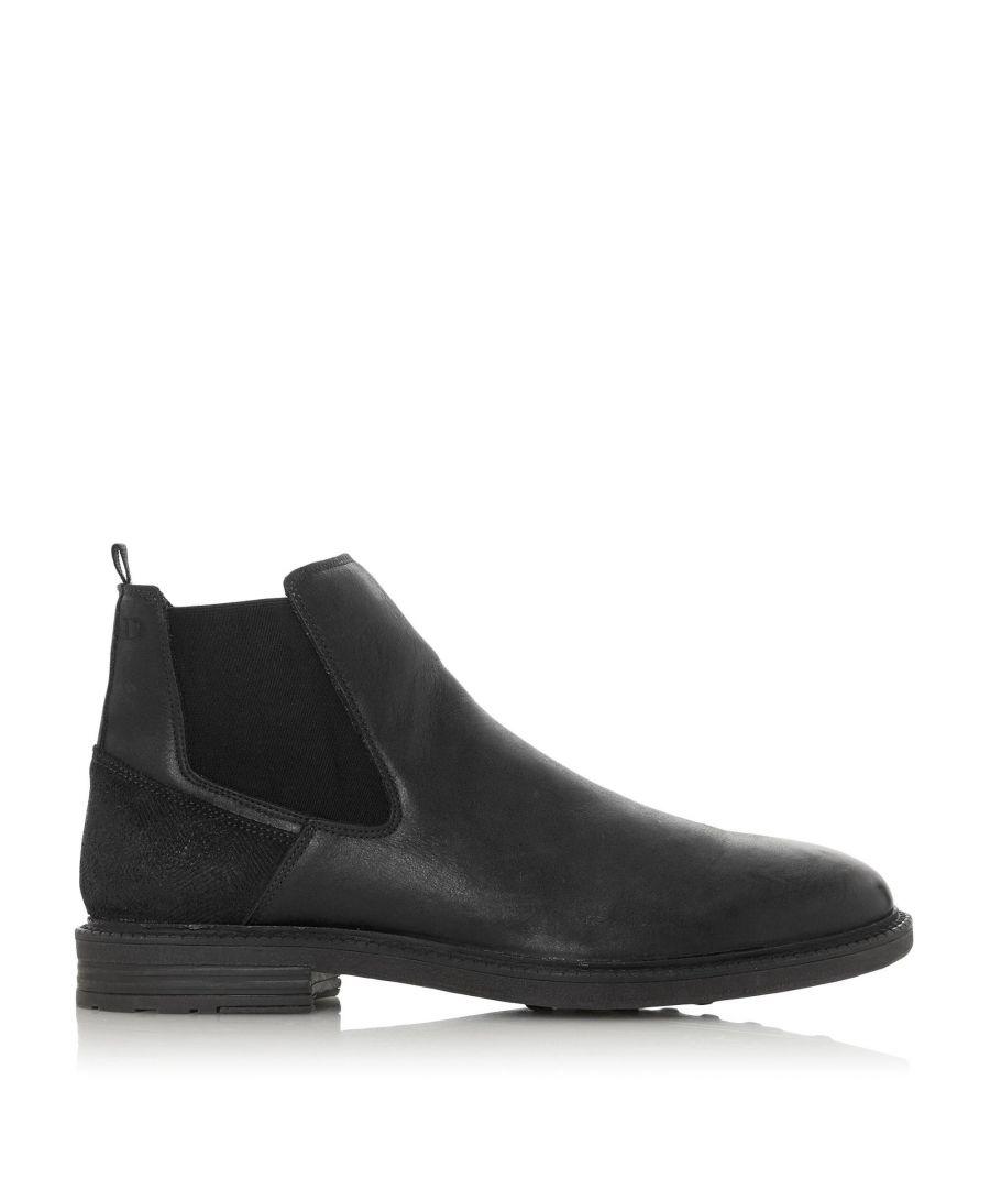 Image for Dune Mens COURAGEOUS Zip Chelsea Boots