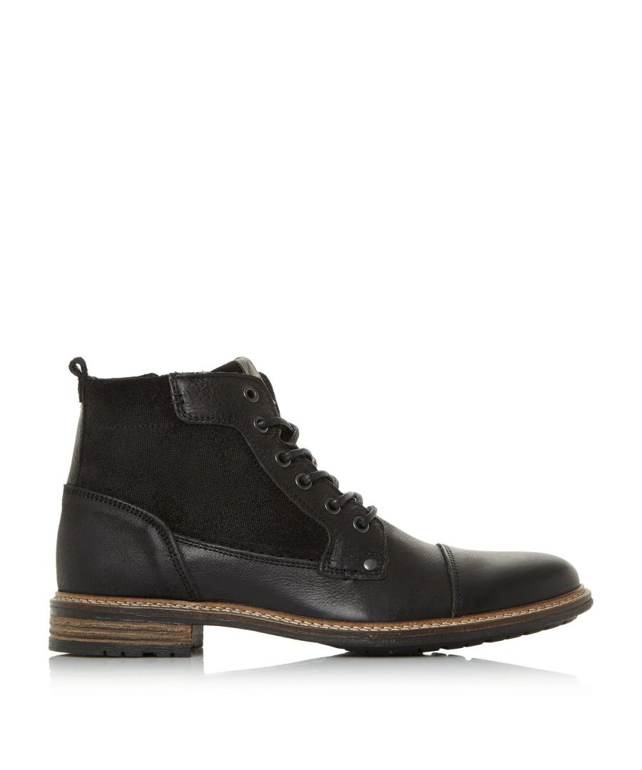 Image for Dune Mens COUTINHO Toecap Boots