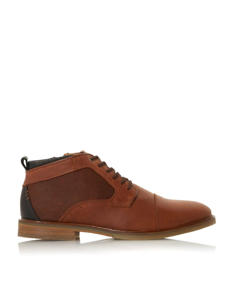Image for Dune Mens COVES Elasticated Lace Boots