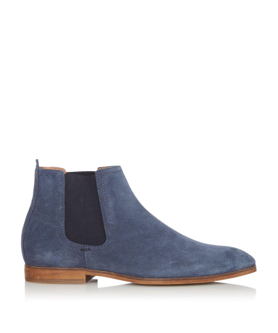 Image for Dune Mens CRANBROOK Suede Chelsea Boots