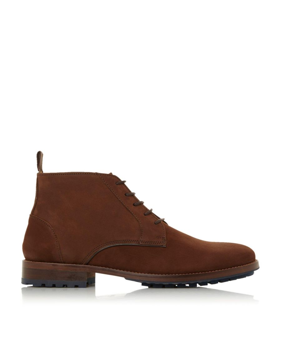 Image for Dune Mens CREEK Contrast Cleated Sole Chukka Boots