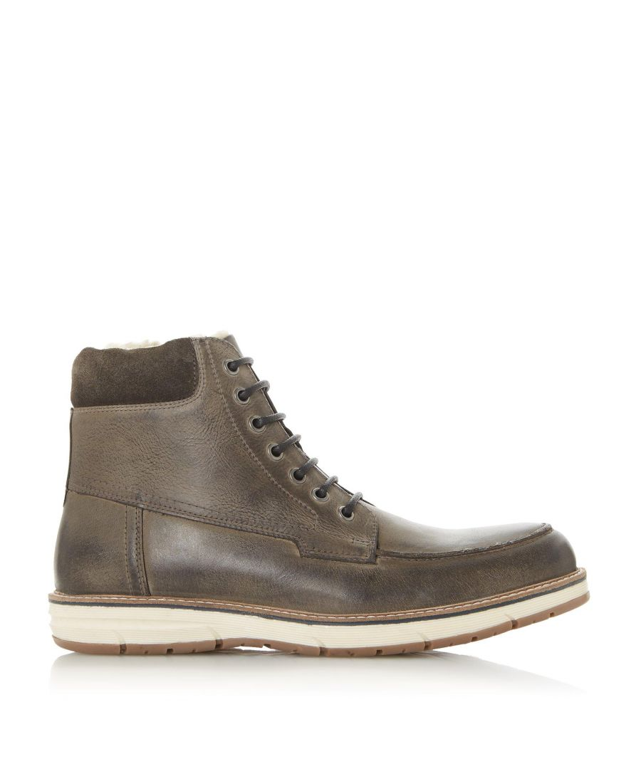 Image for Dune Mens CRONENBOURG H Laced Zip Boots