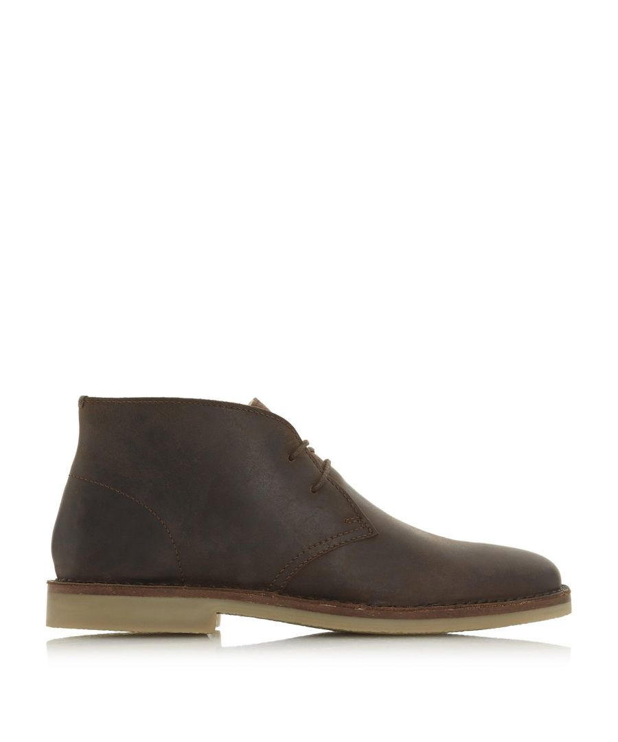 Image for Dune Mens CURRY Lace Up Desert Boots