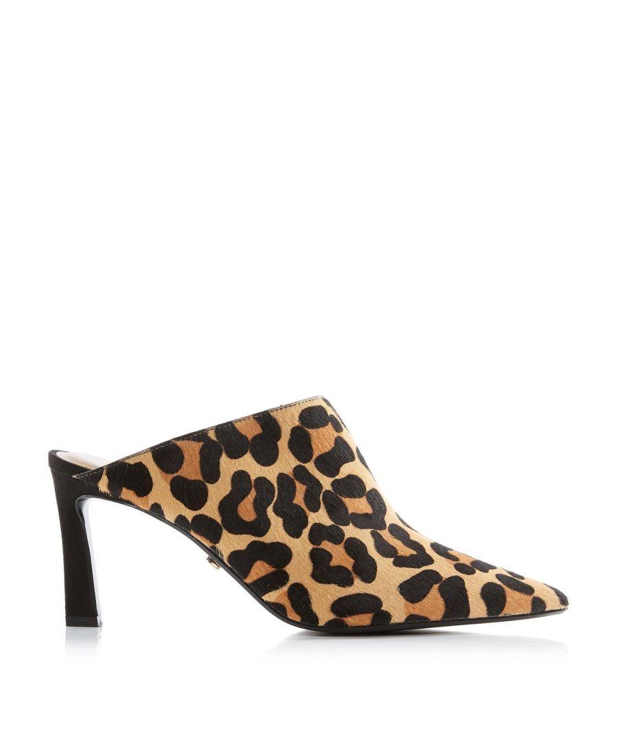 Image for Dune Ladies CURVE Asymmetric Kick Heel Mule
