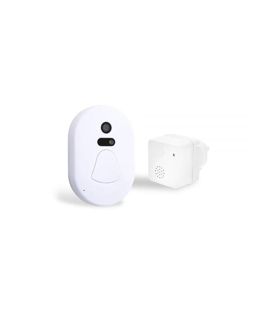 Image for Wireless Smart Camera Doorbell White