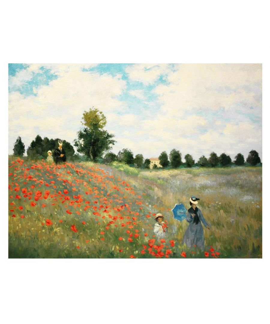 Image for Canvas Print - Poppies, Near Argenteuil - Claude Monet