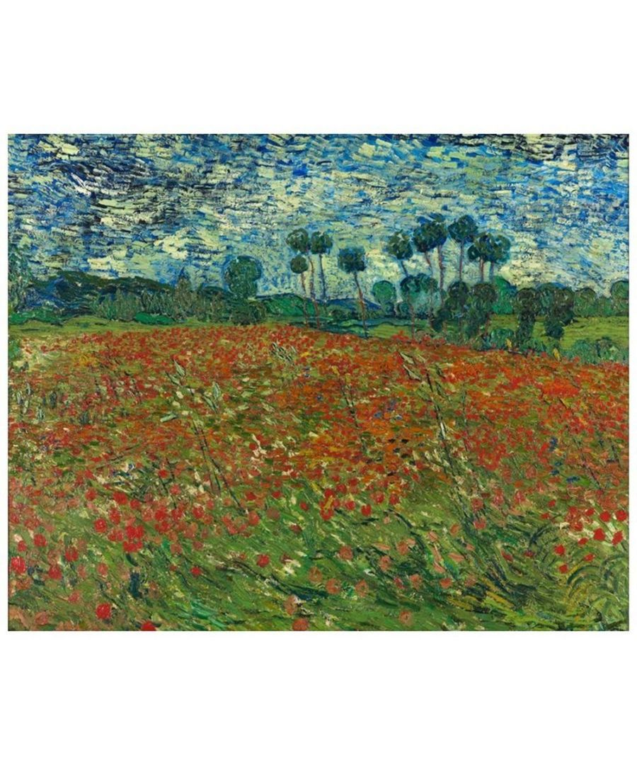 Image for Canvas Print - Poppy Field - Vincent Van Gogh Cm. 80x100