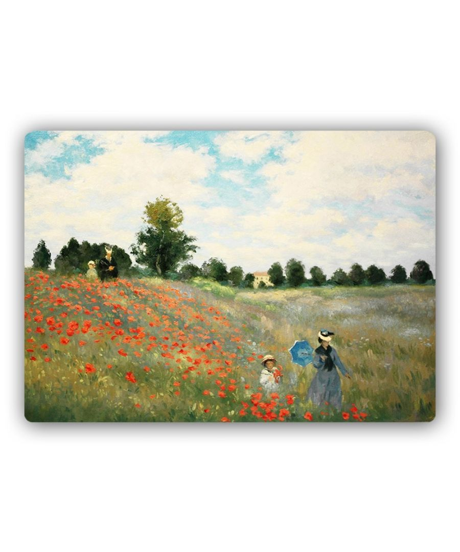 Image for Metal Print - Poppies, Near Argenteuil - Claude Monet