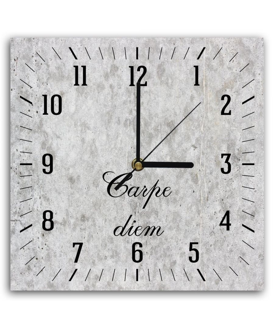Image for Wall Clock - Carpe Diem Cm. 30x30