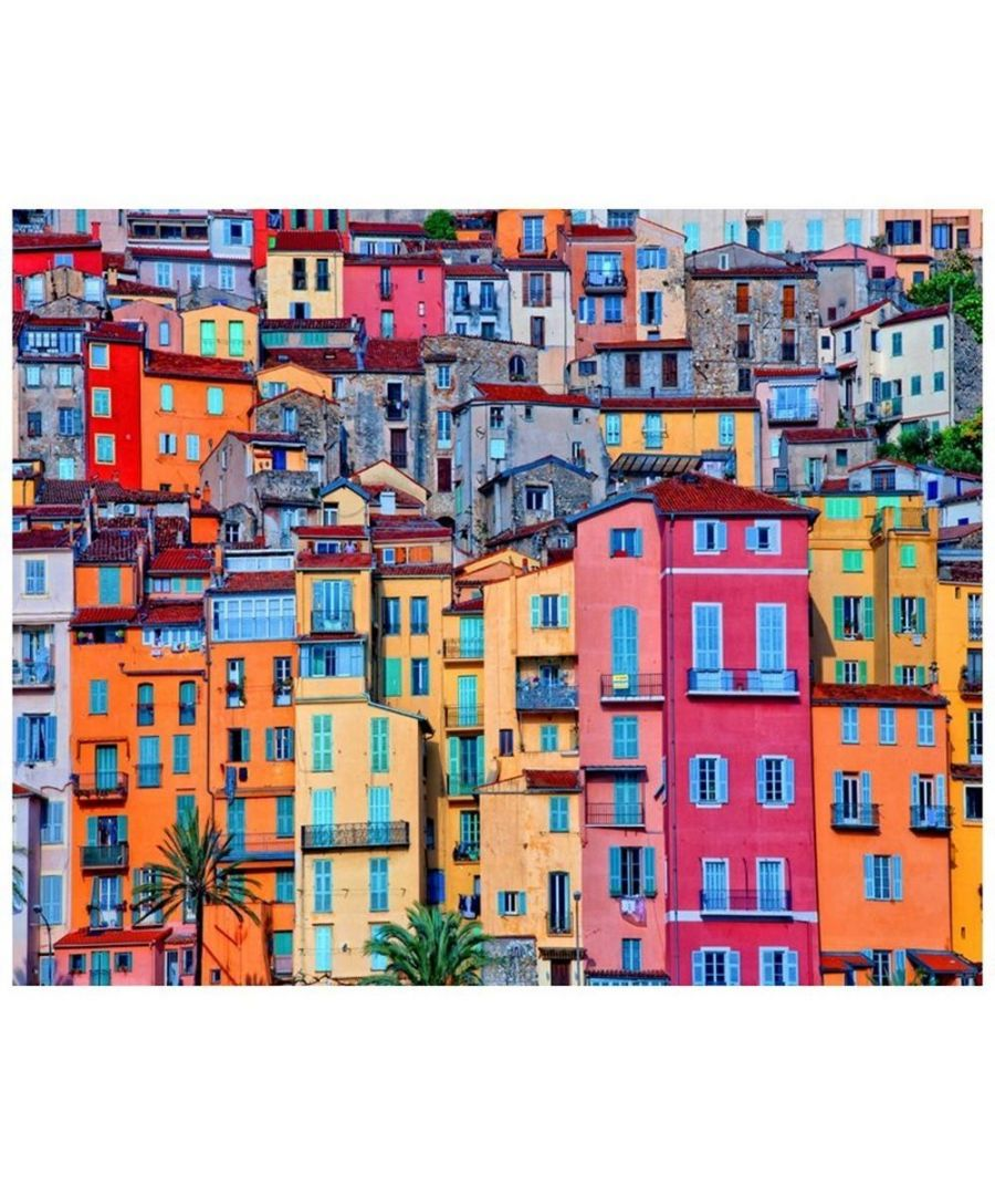 Image for Canvas Print - Houses In Colour Cm. 80x100
