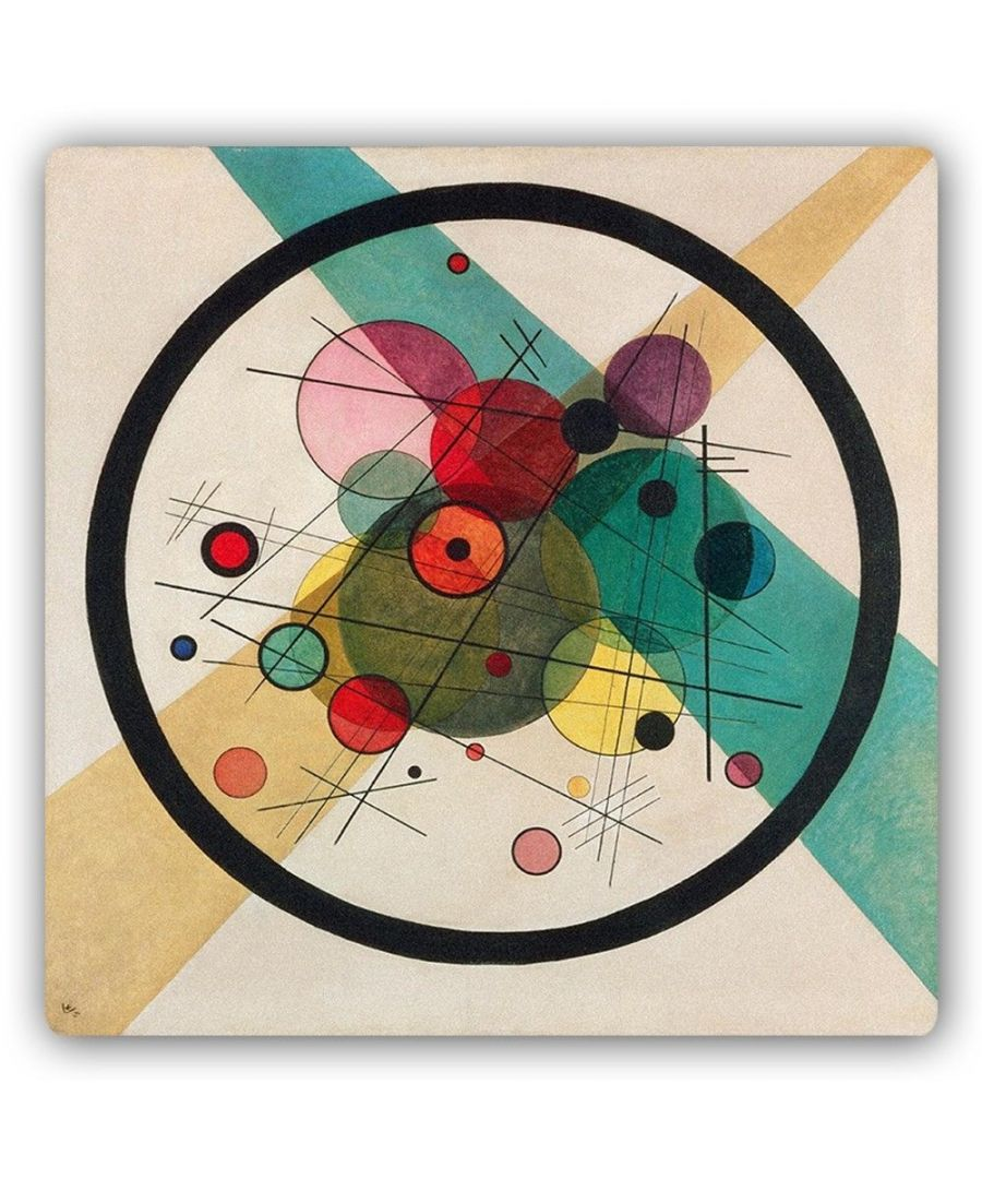 Image for Metal Print - Circles In A Circle - Wassily Kandinsky
