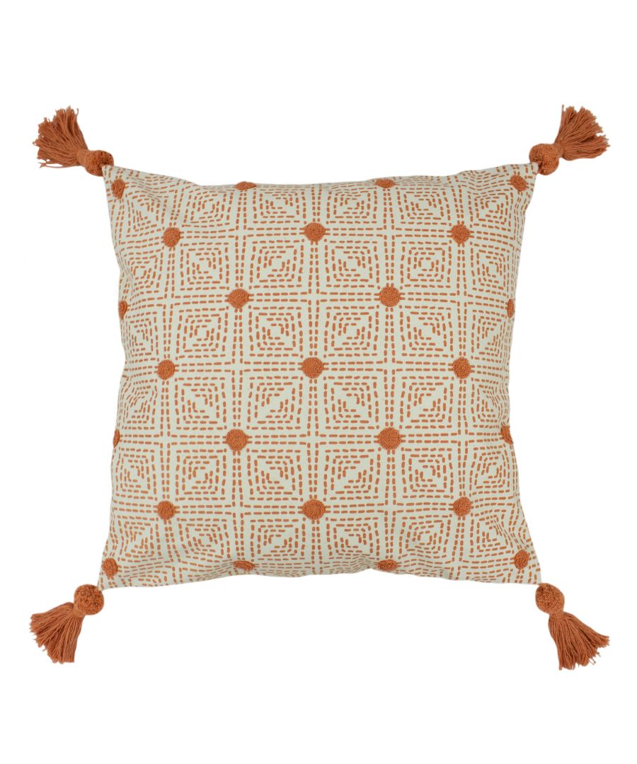 Image for Chia 50X50 Poly Cushion Coral