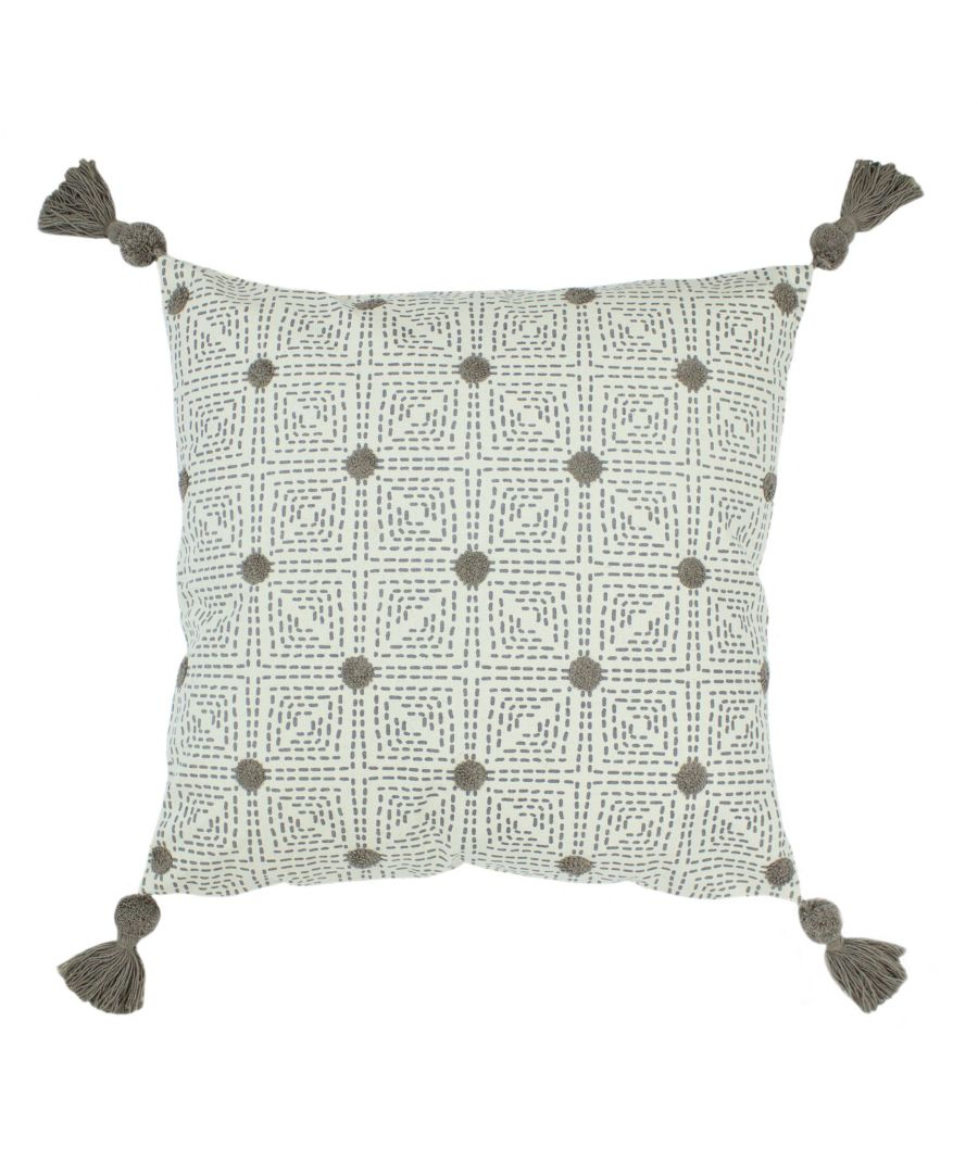 Image for Chia 50X50 Poly Cushion Grey