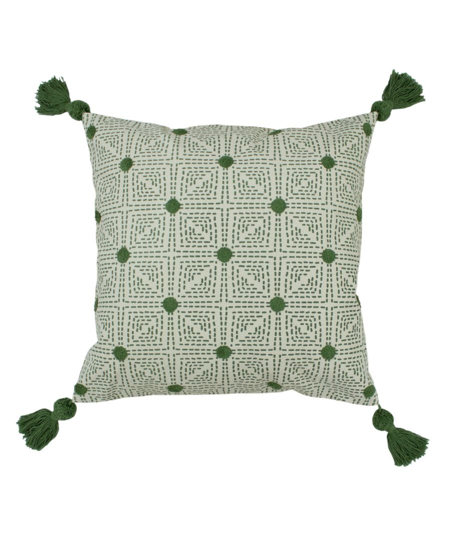 Image for Chia 50X50 Poly Cushion Sage