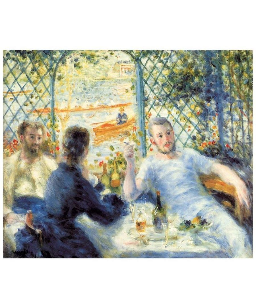Image for Canvas Print - The Rower'S Lunch - Pierre Auguste Renoir Cm. 50x60