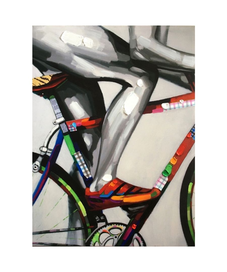 Image for Canvas Print - Cycling Colours Cm. 60x80