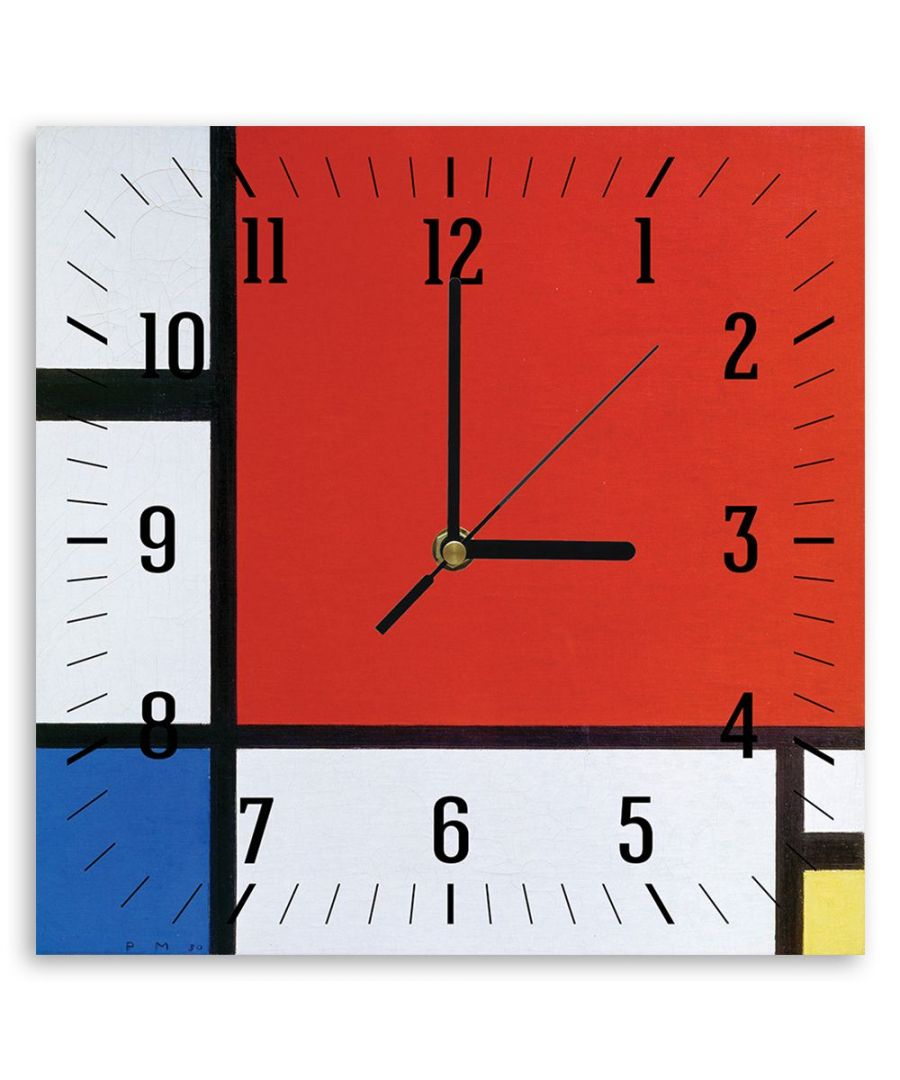 Image for Wall Clock - Composition Ii In Red, Blu And Yellow - Wassily Kandinsky Cm. 30x30