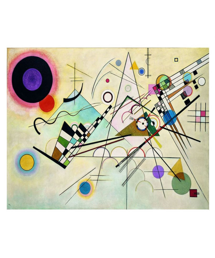 Image for Canvas Print - Composition Viii - Wassily Kandinsky