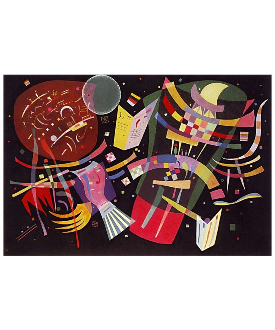 Image for Canvas Print - Composition X - Wassily Kandinsky Cm. 60x90