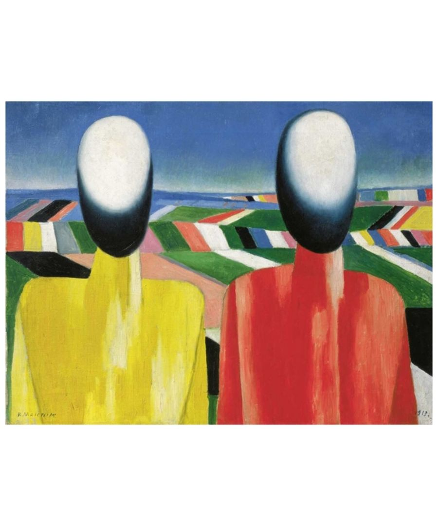 Image for Canvas Print - Peasants - Kazimir Malevich Cm. 50x70