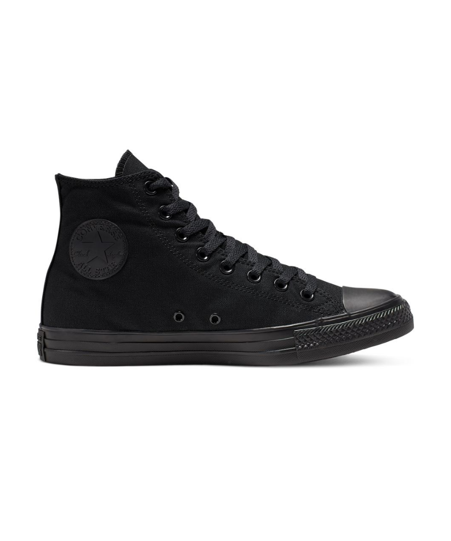 Image for Converse All Star Unisex Chuck Taylor High Top Sneakers - Black Monochrome