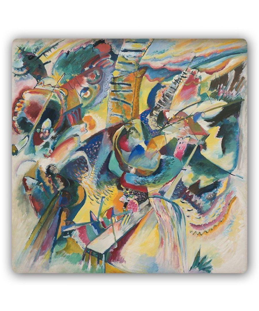 Image for Metal Print - Improvisation Klamm - Wassily Kandinsky