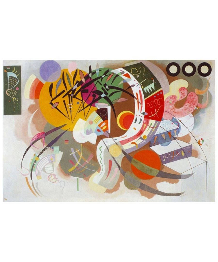 Image for Canvas Print - Dominant Curve - Wassily Kandinsky Cm. 60x90