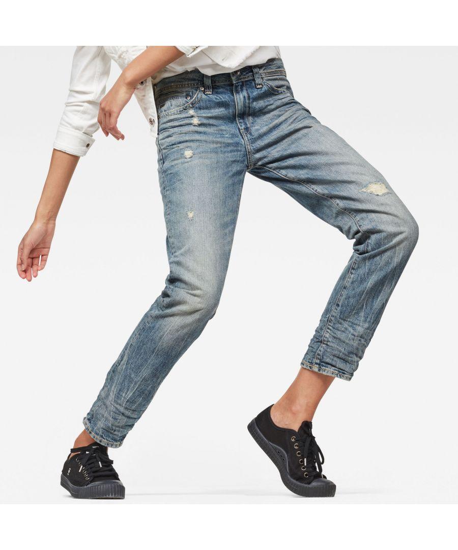 Image for G-Star RAW Midge Saddle Boyfriend Jeans