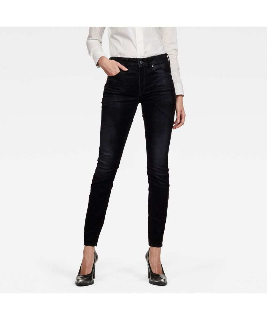 Image for G-Star RAW 3301 High Waist Skinny Jeans
