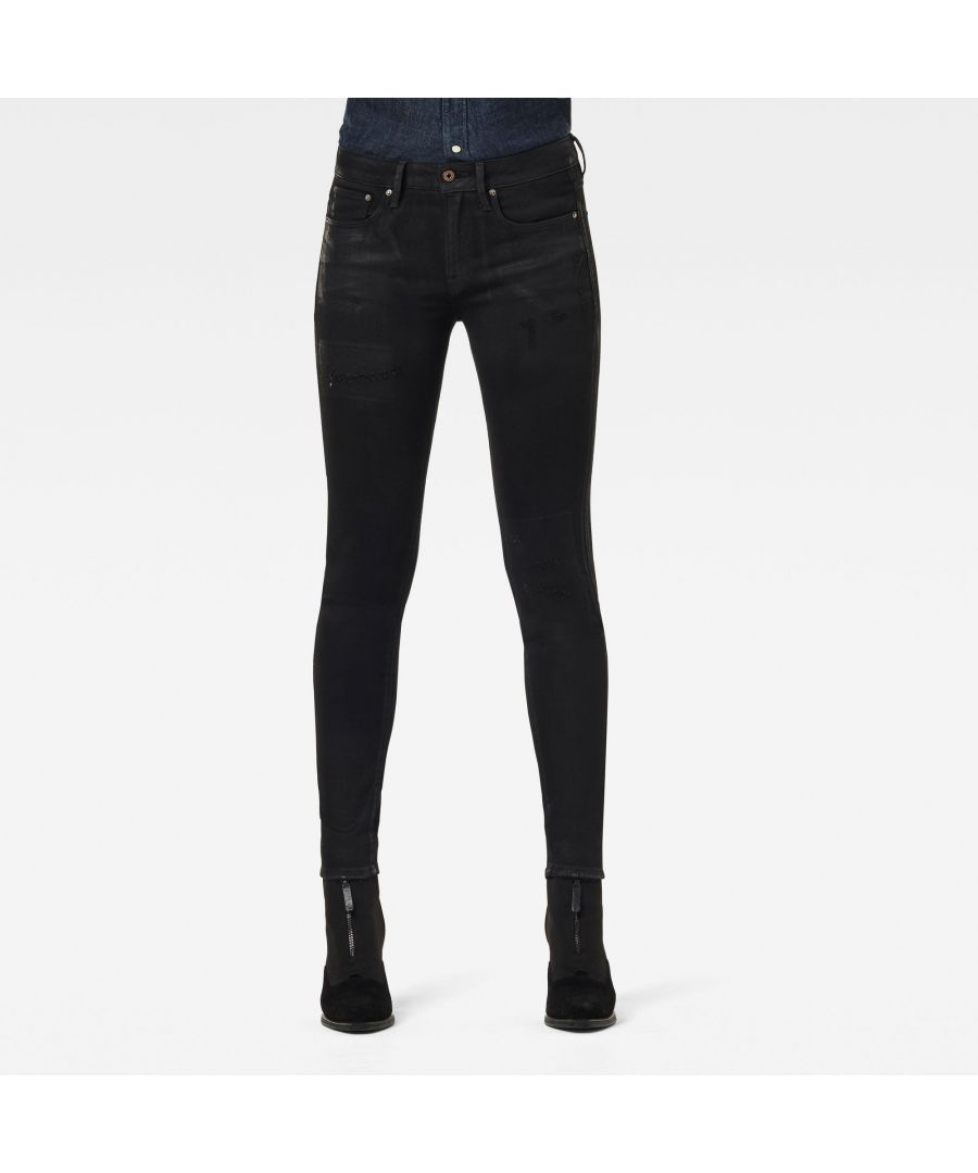 Image for G-Star RAW 3301 Mid Skinny Jeans
