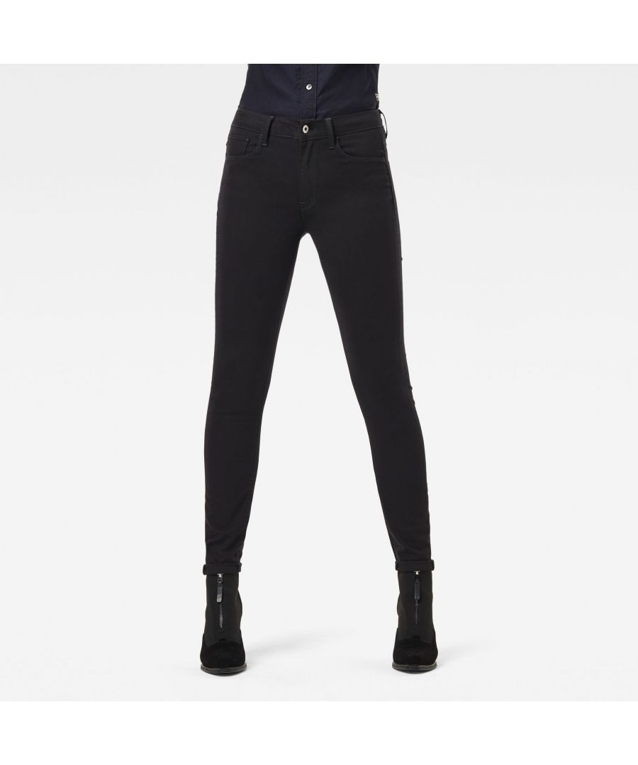 Image for G-Star RAW 3301 High-Waist Skinny Jeans