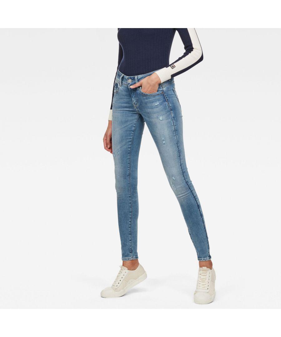 Image for G-Star RAW Lynn D-Mid Waist Super Skinny Jeans