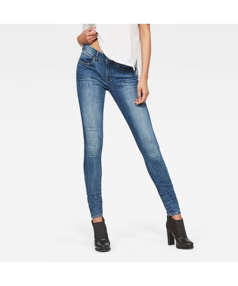Image for G-Star RAW 3301 D-Mid Waist Super Skinny Jeans