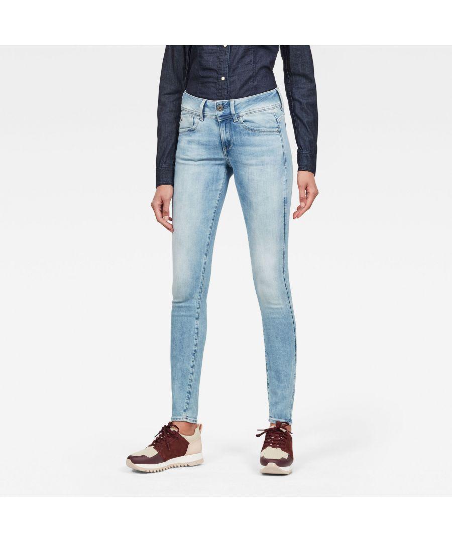 Image for G-Star RAW Lynn Mid Waist Skinny Jeans