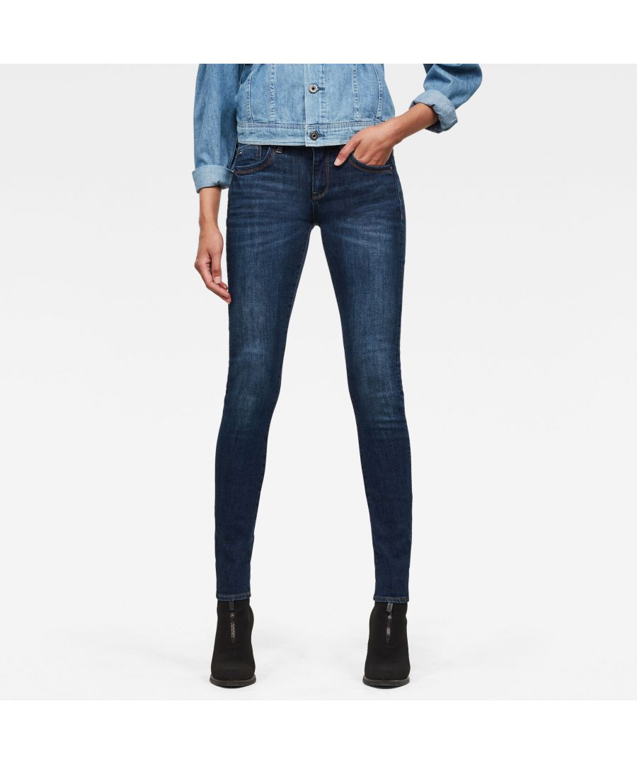 Image for G-Star RAW Lynn Mid Skinny Jeans