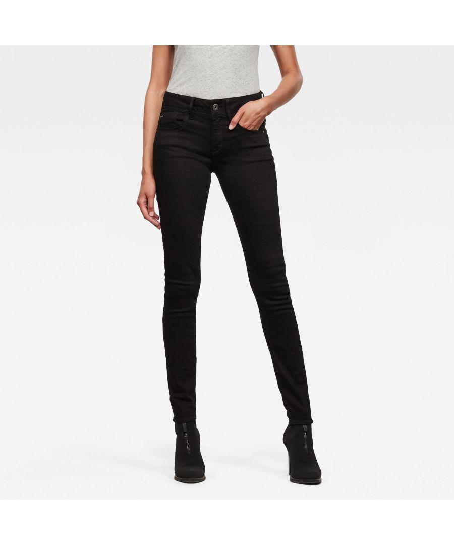 Image for G-Star RAW Lynn Mid Skinny Jeans
