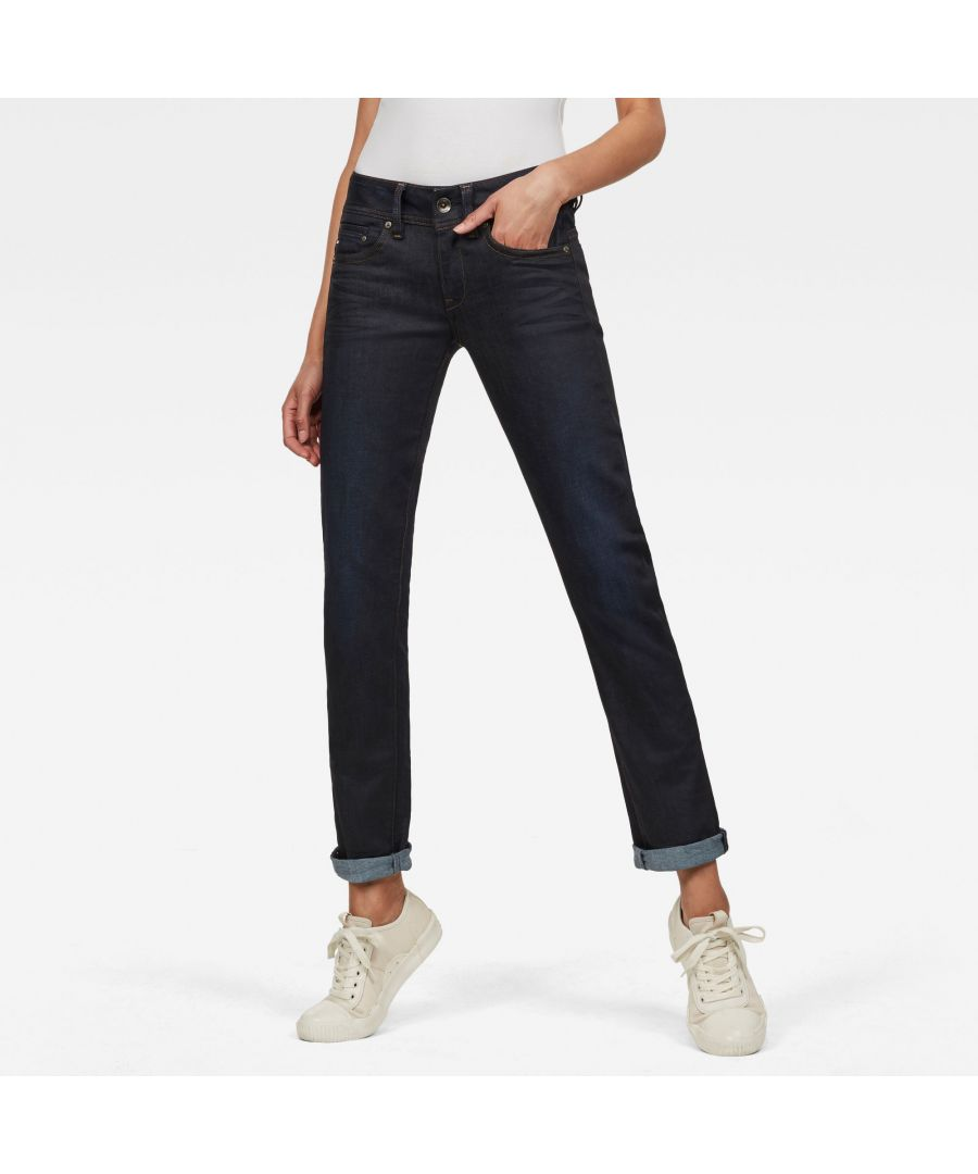 Image for G-Star RAW Midge Saddle Straight Jeans