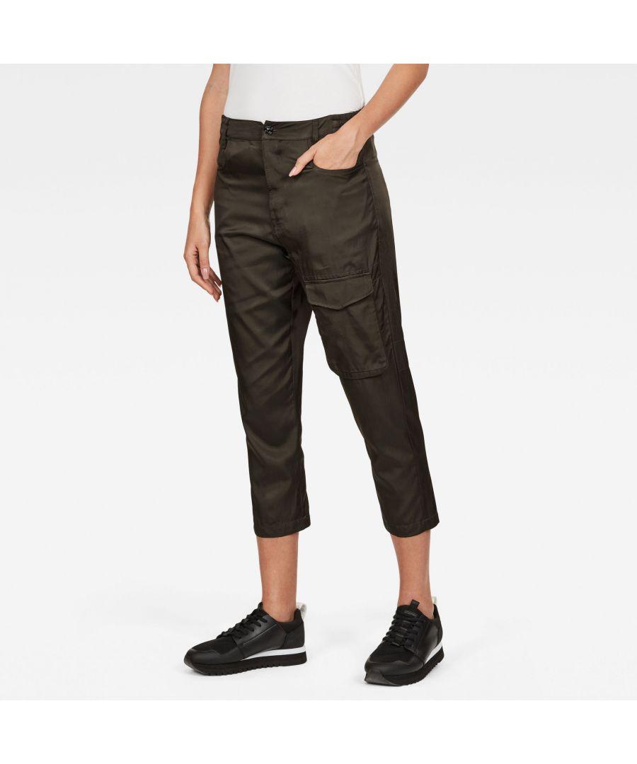 Image for G-Star RAW Boxxa 3D Mid waist Boyfriend Cargo Pants
