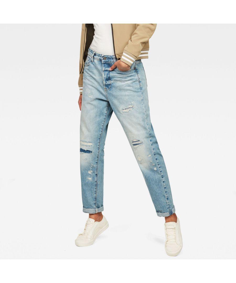 Image for G-Star RAW Midge Saddle High Waist Boyfriend Jeans