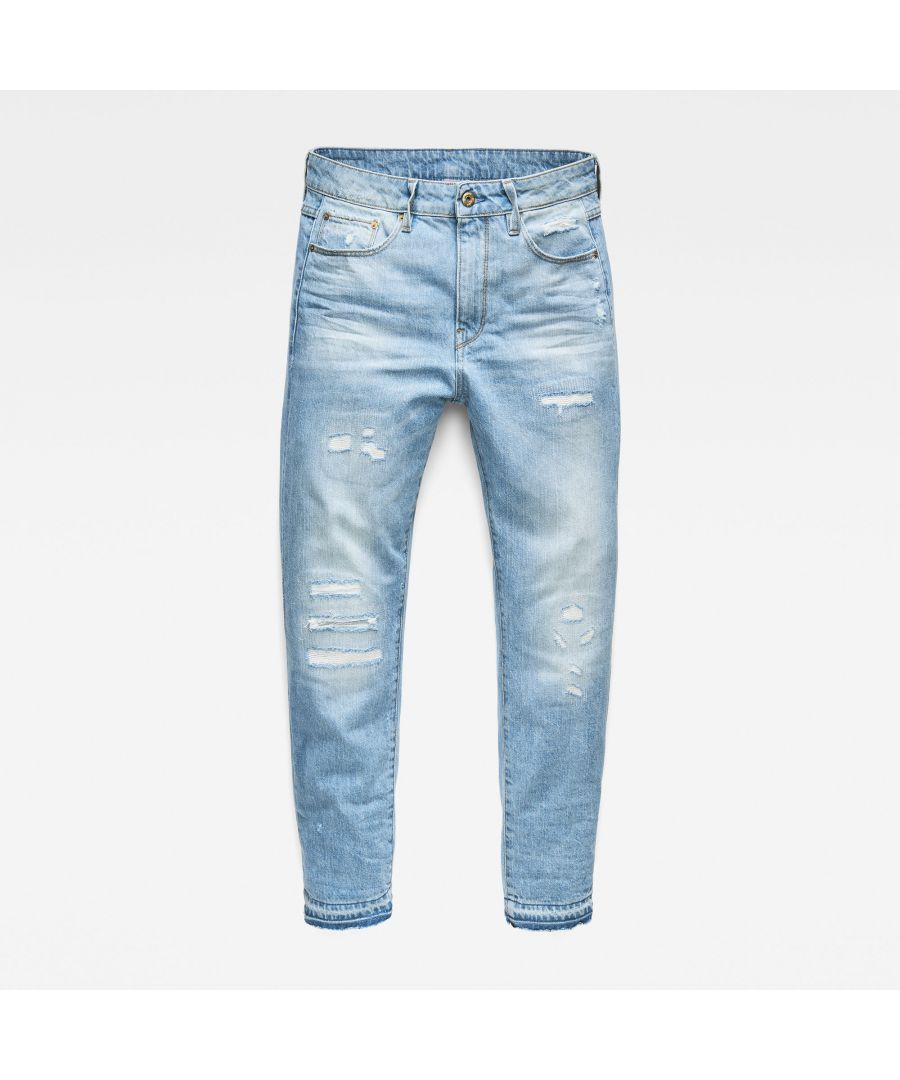 Image for G-Star RAW 3301 Ripped Mid Boyfriend Jeans