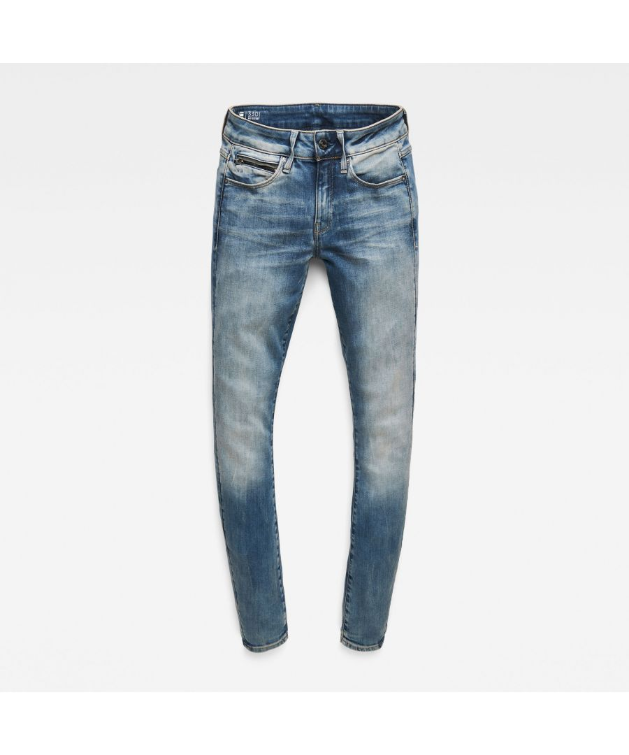 Image for G-Star RAW 3301 Studs Mid Skinny Jeans