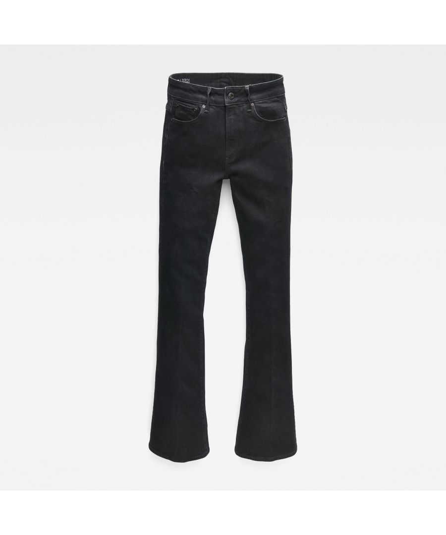 Image for G-Star RAW 3301 High Flare Jeans