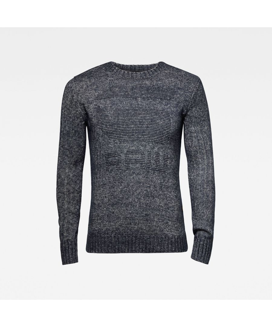 Image for G-Star RAW Mongram Knitted Sweater