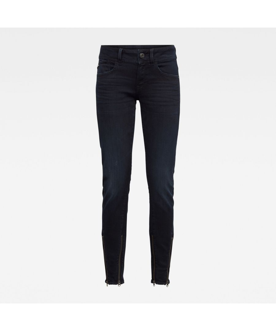 Image for G-Star RAW Lynn 2-Zip Mid Skinny Ankle Jeans