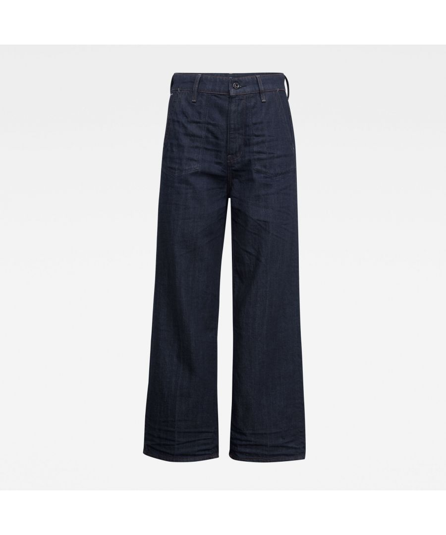 Image for G-Star RAW Eyevi High Wide Leg Ankle Jeans