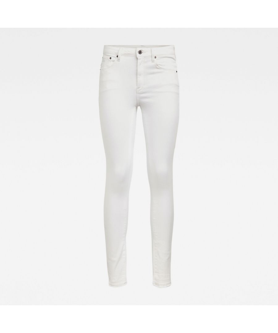 Image for G-Star RAW 3301 High Skinny Ripped Edge Ankle Jeans