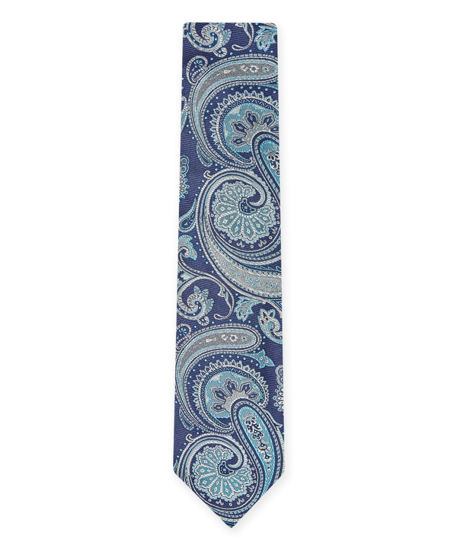 Image for Elegant Paisley Tie Navy